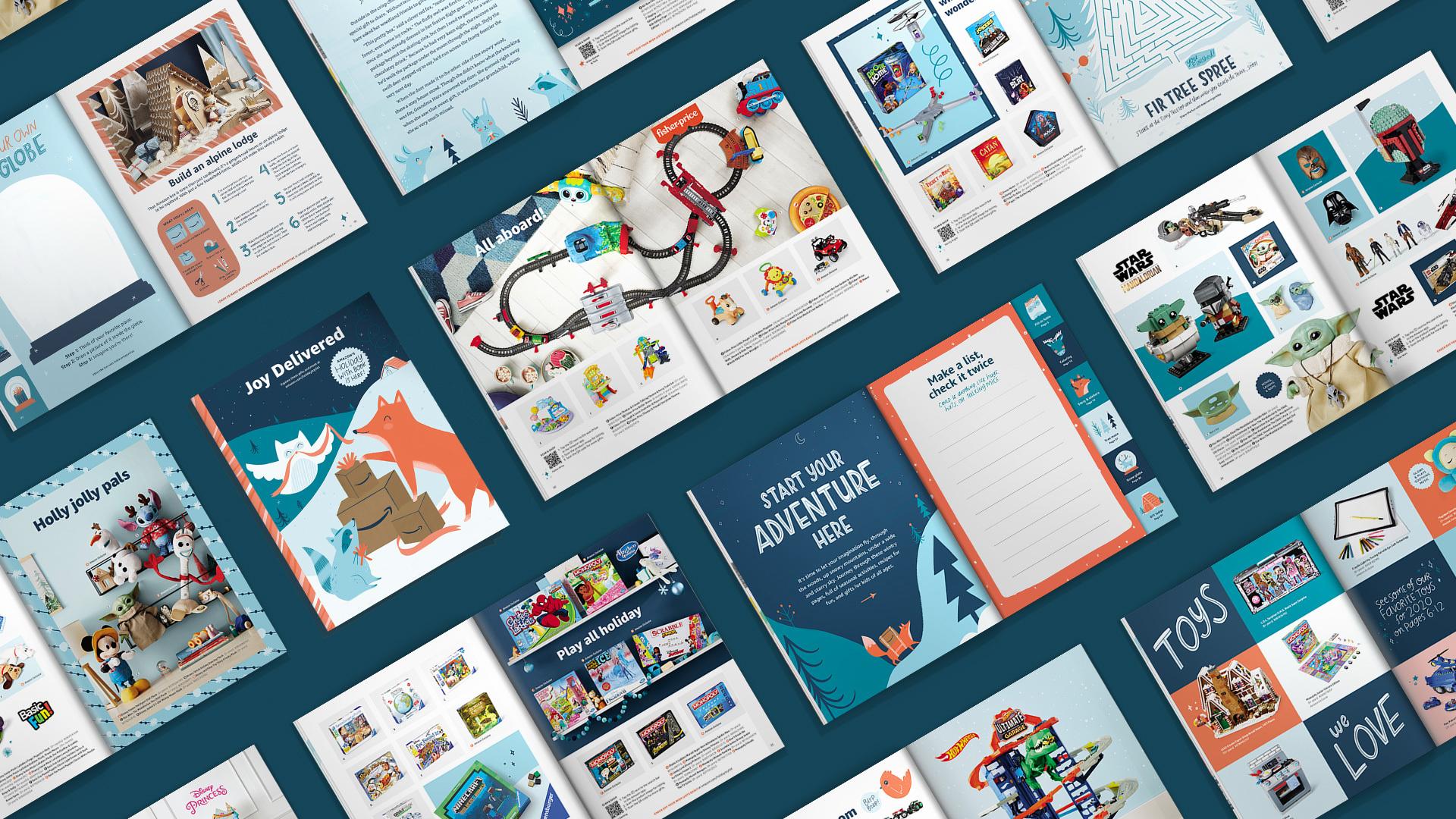 Peek Inside Amazon S 2020 Holiday Wish Book