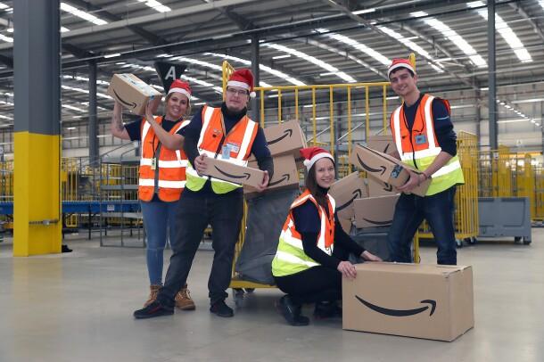 Amazon associates from around the world celebrate the beginning of Peak.