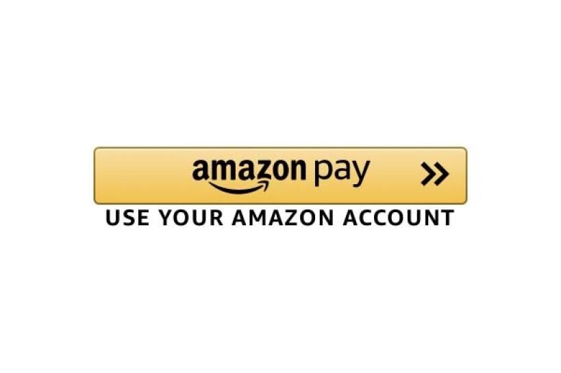 Amazon Pay button visual.