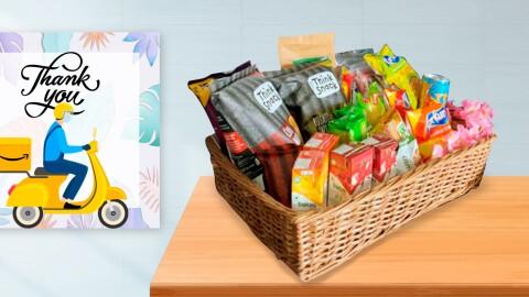 Image of snacks hamper