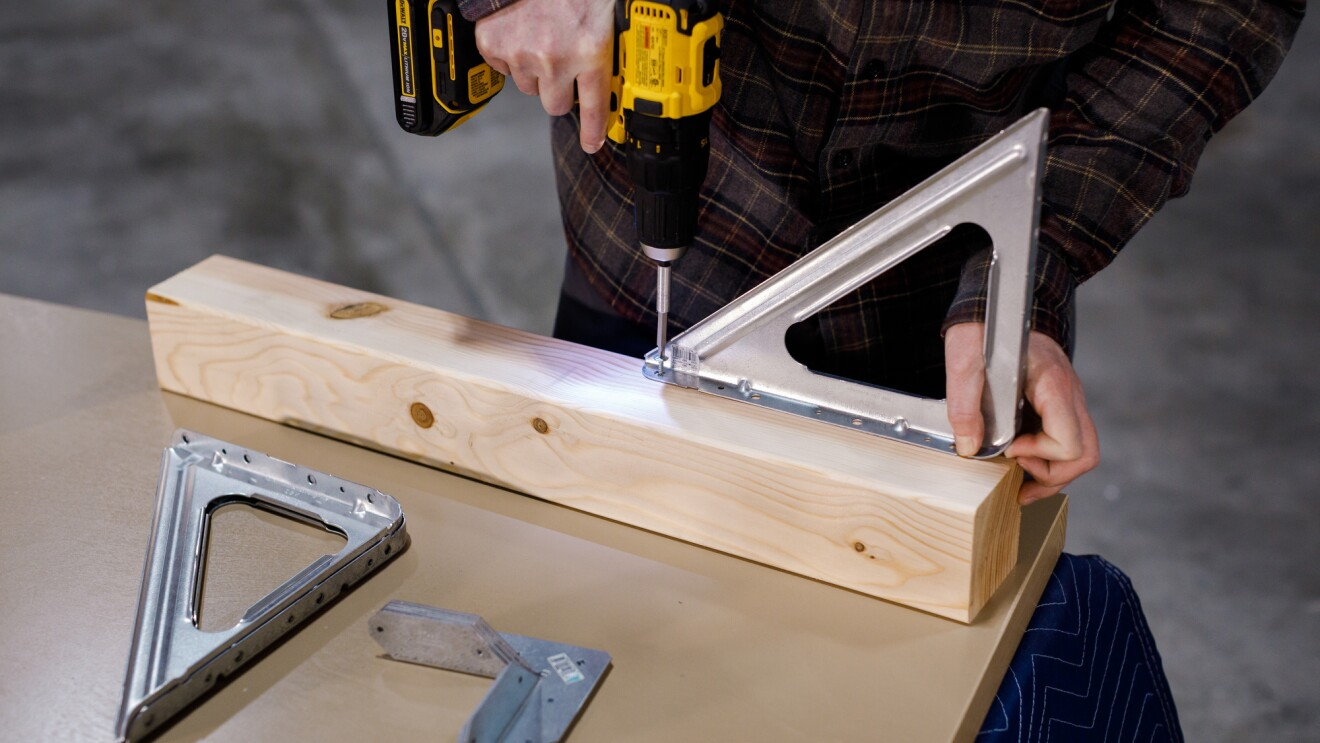 Build a door desk