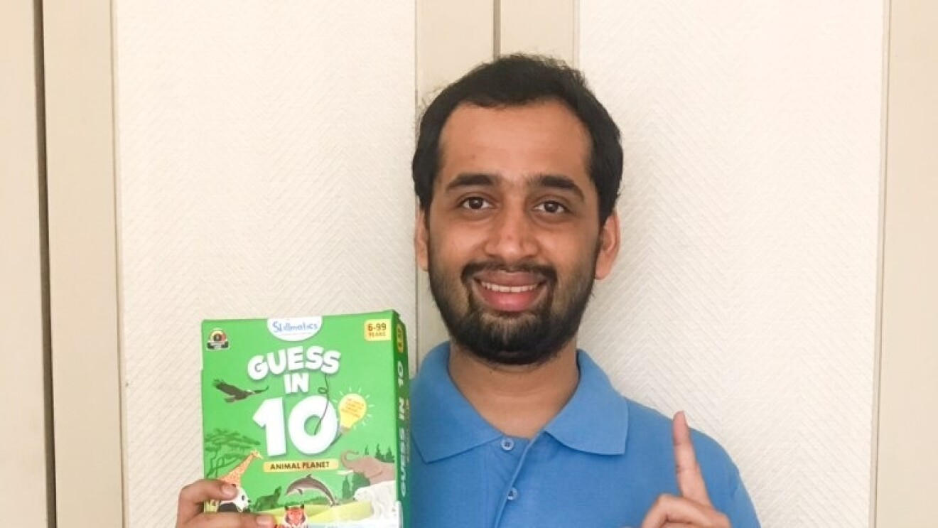 Dhvanil Sheth, founder and CEO of Skillmatics