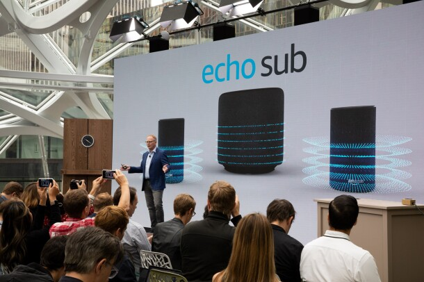 Amazon Devices VP introduces Echo Sub