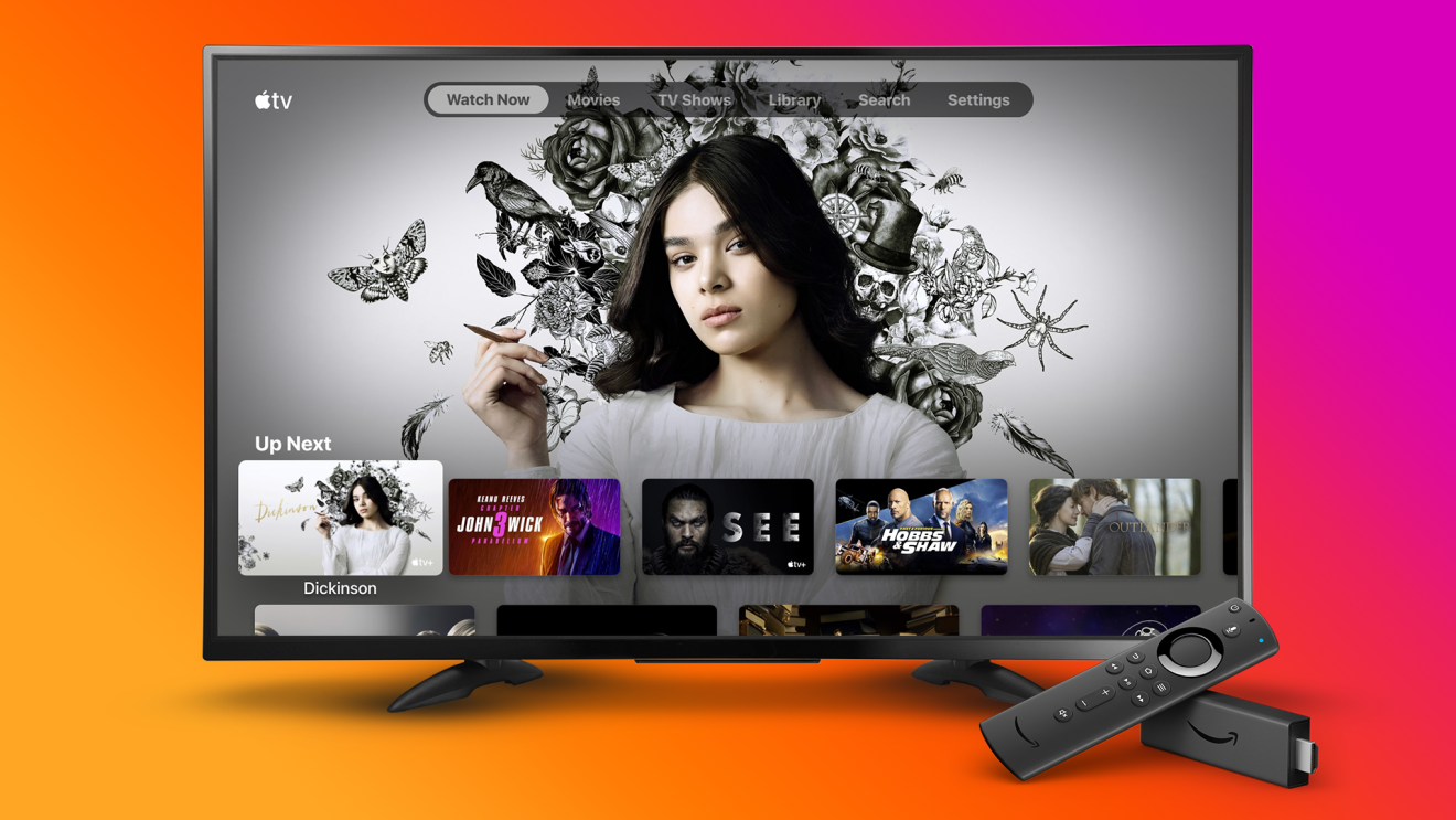 Apple TV App on Fire TV