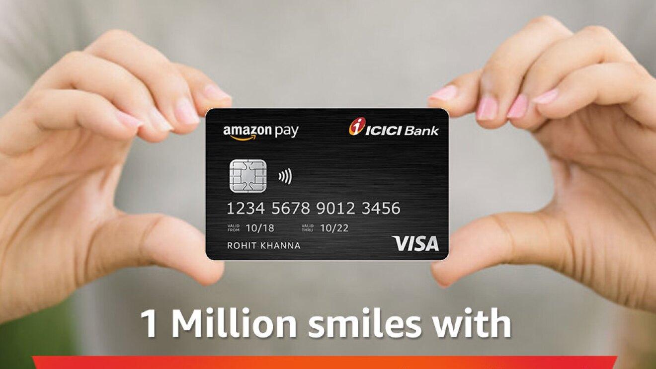 Credit card Amazon Pay