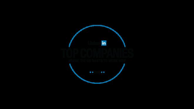 LinkedIn top companies where the U.S. wants to work now 2018 logo