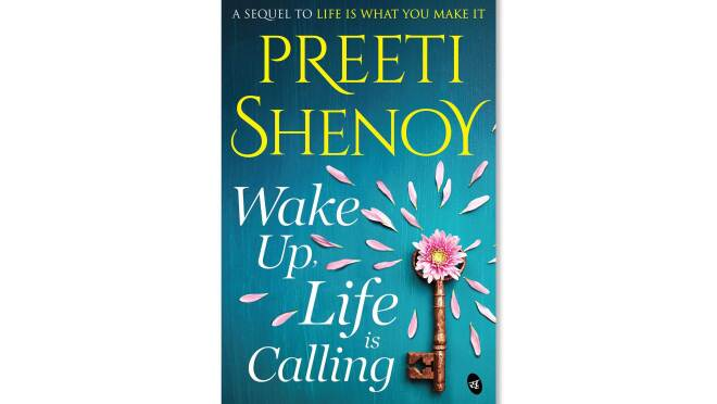Cover page of Preeti Shenoy book Wake Up, Life is Calling