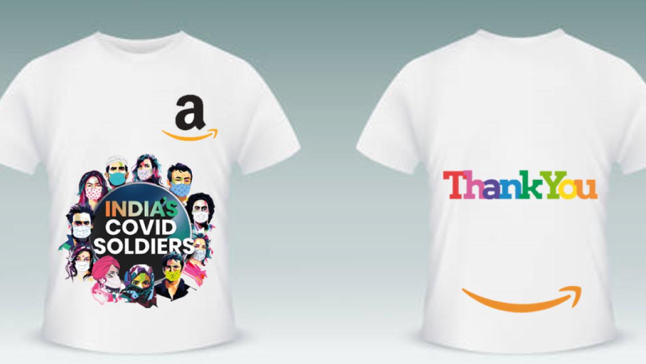 COVID warrirors Amazon India