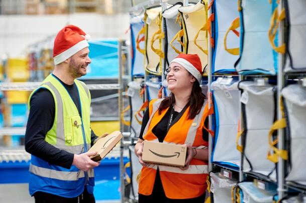 Amazon associates from our Leeds fulfillment center