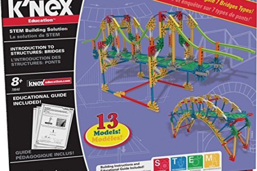 K'NEX Education – Intro to Structures: Bridges Set kit