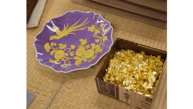 九谷焼・錦山窯の作品