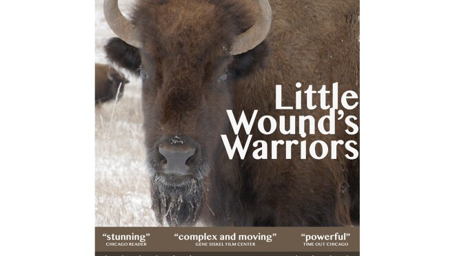 Promotional material for a movie about Native American culture, heritage, and history