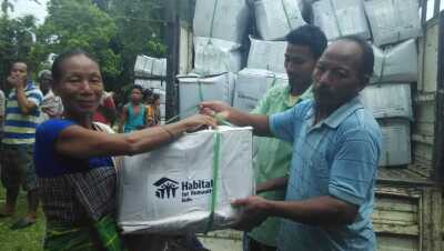 NE flood relief  NGOs helping the flood affected