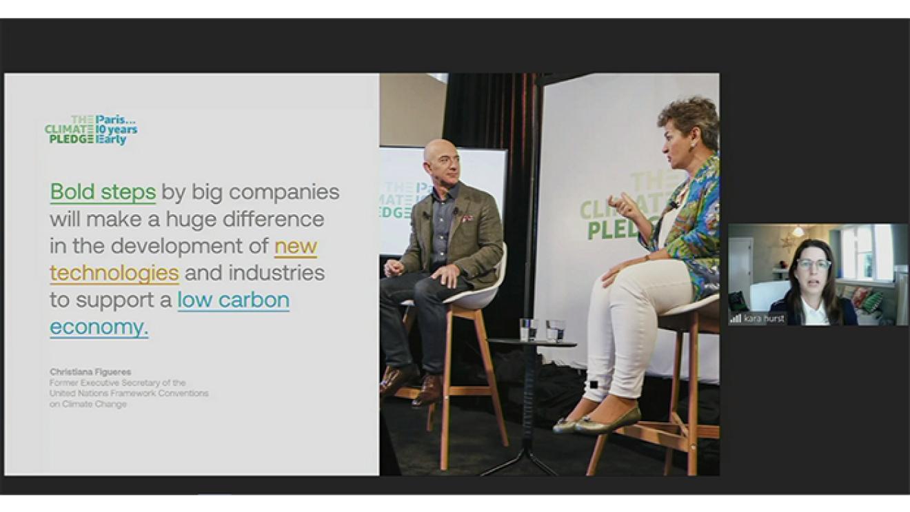 「脱炭素社会」の実現に向け、 パートナーシップを強化・拡大し、コミュニティづくりを推進