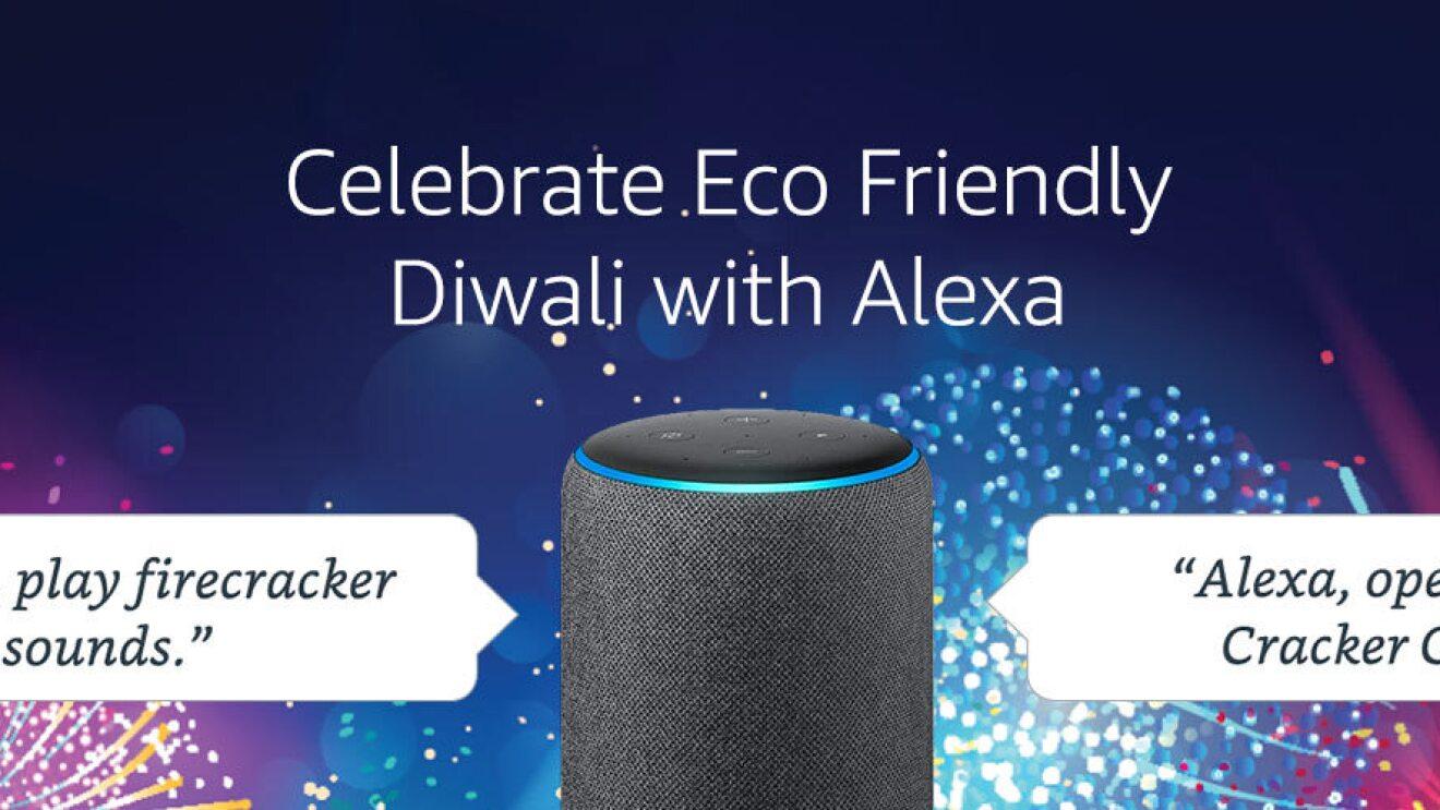 Diwali with Alexa Amazon INdia