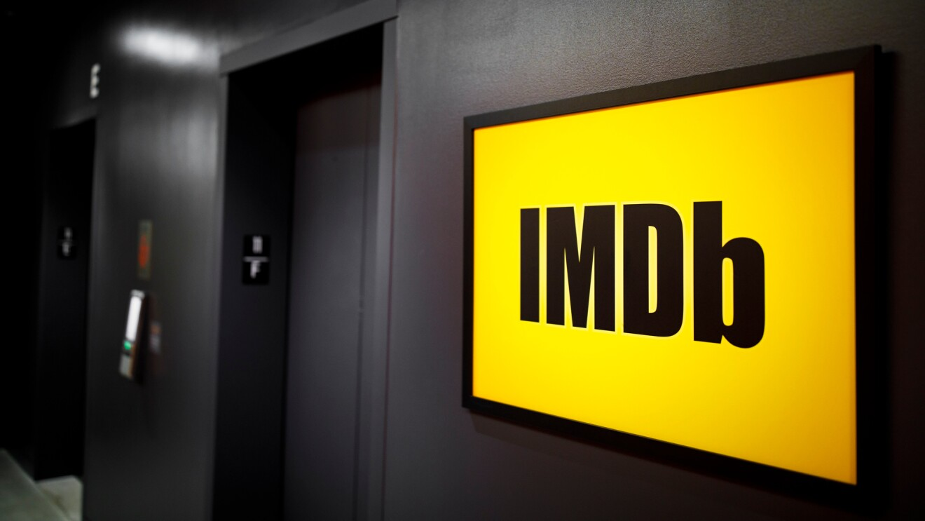 IMDb office - yellow sign 2000 x 1333