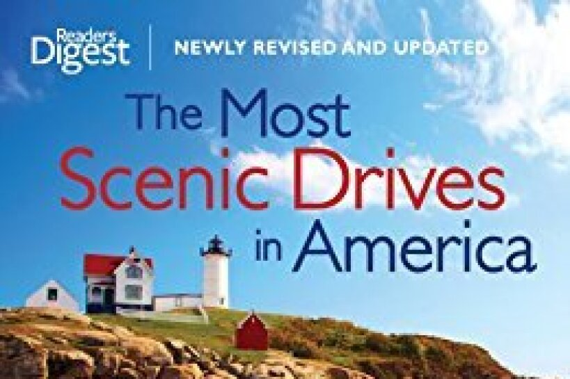 "Cover of the book ""The Most Scenic Drives in America"" by the editors of Reader's Digest"