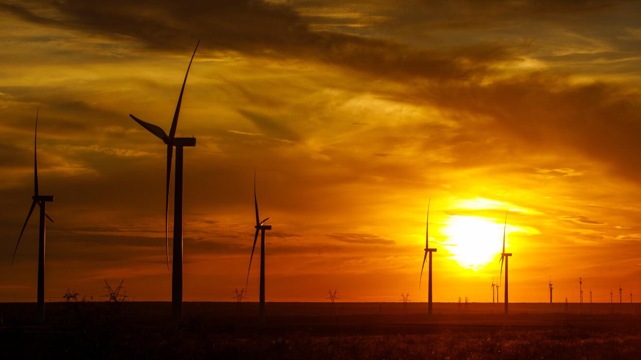 Amazon Wind Farm Texas Launch