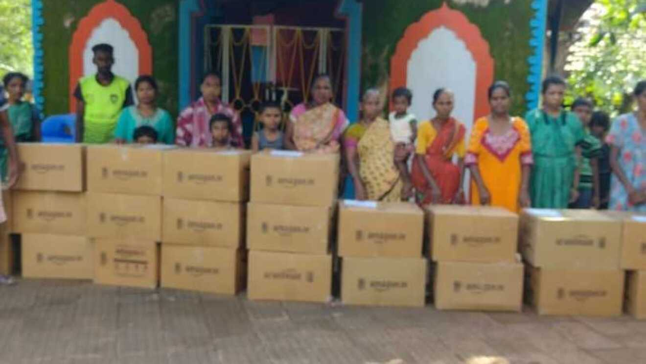 Disaster Relief packages by amazon india