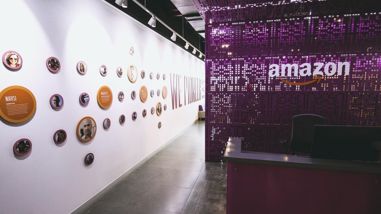 Amazon India office