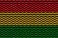 red, yellow, and green zigzag pattern on a black background to represent Black history month
