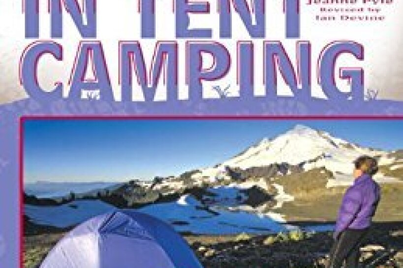 "Book cover for ""The Best in Tent Camping,"" by various authors"