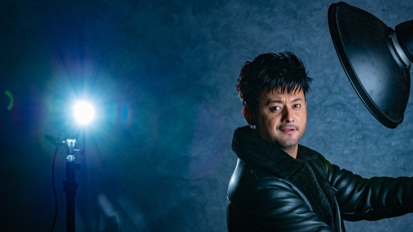 Swapnil Joshi poses for a picture