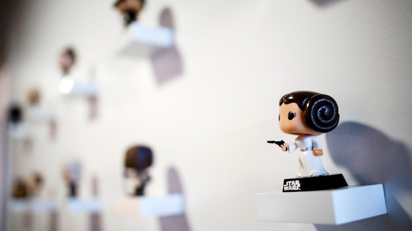IMDb office - Funko figures on wall - 2000 x 1333