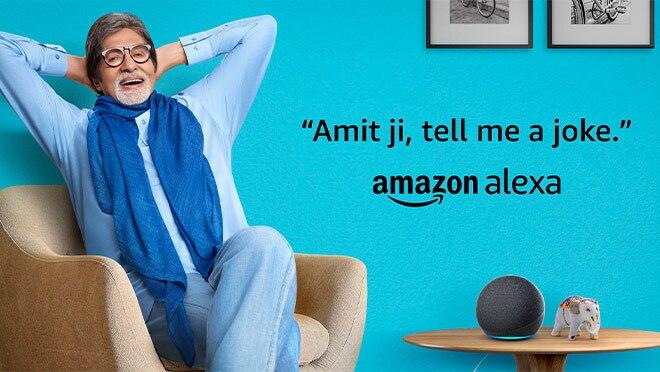 Amitabh - the celeb voice of Alexa