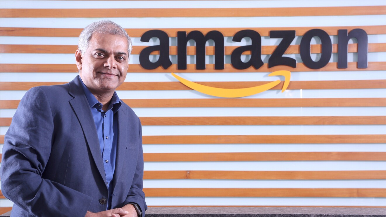Manish Tiwary, Vice President - Category Management, Amazon India poses for a pic