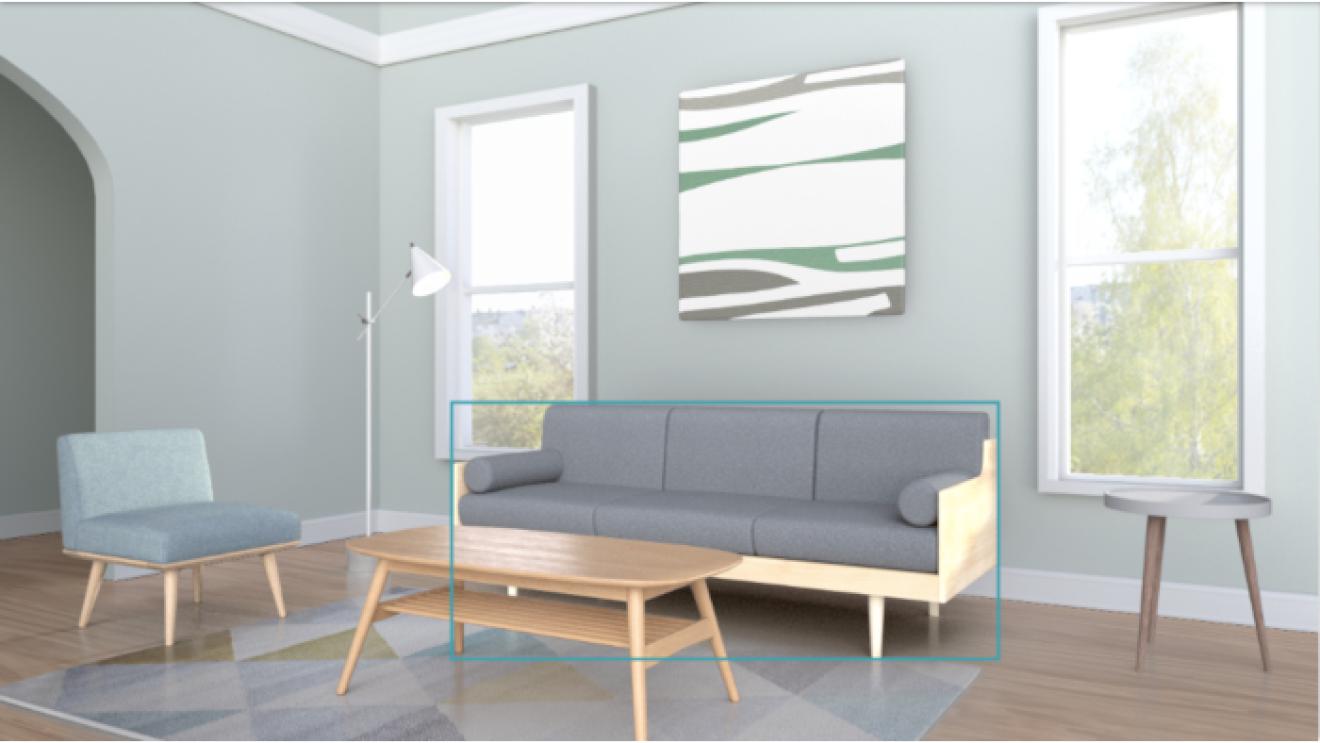 バーチャルで模様替えして、理想の部屋をシミュレーション。「ショールーム」