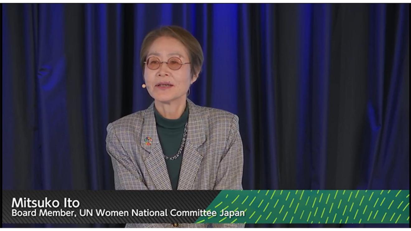 UN Women Japanの皆さんとジェンダー平等と女性のエンパワーメントについて考える
