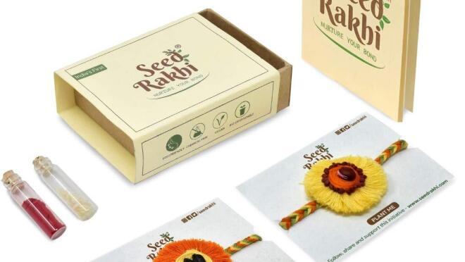 Seed Rakhi Box