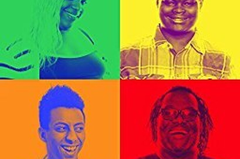 The cover art for Covenant House Celebrates Pride Month playlist