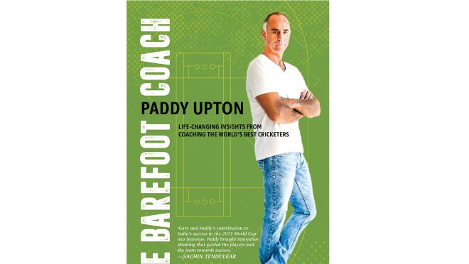 Cover page of the book by Paddy Upton