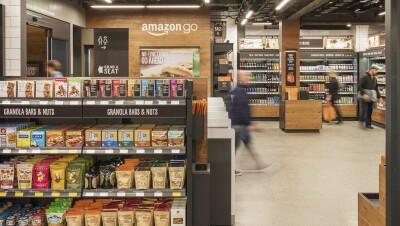 Amazon Go - Interior of store