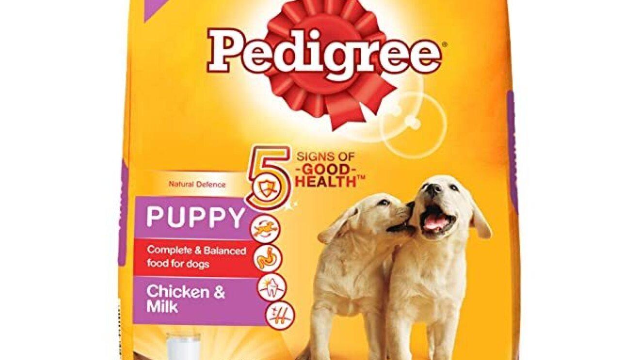 Pedigree Puppy Dry Dog Food, Chicken & Milk image