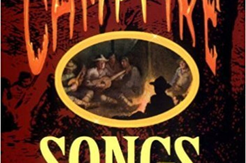 "Book cover for ""Campfire Songs - 3rd Edition"" by Irene Maddox"
