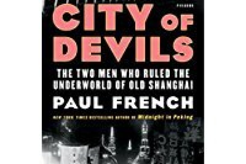The cover of City of Devils by Paul French