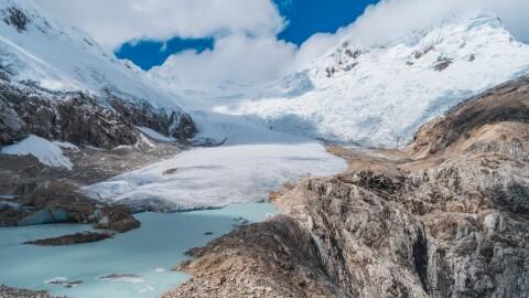 A mountain view in Peru