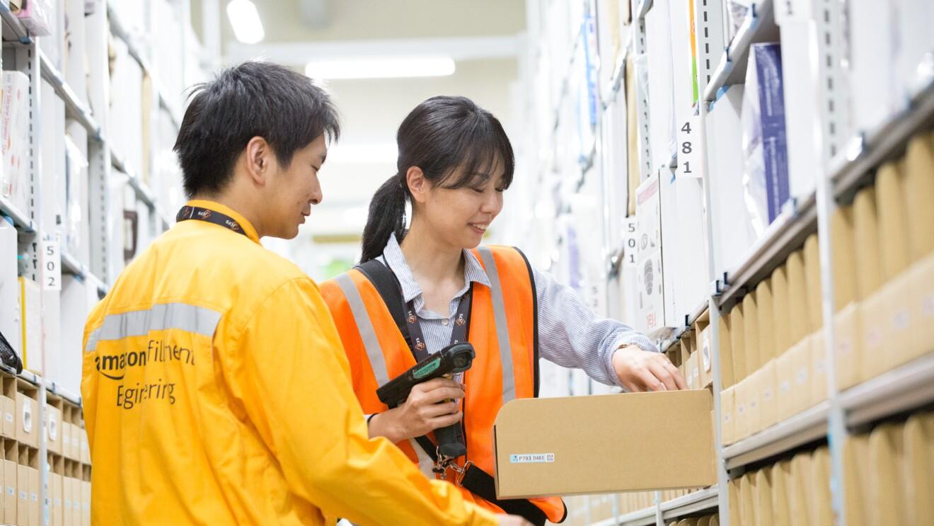 Amazonを支える物流拠点での仕事Ⅱ
