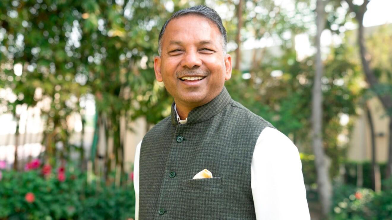 Image of Rajinder Gupta, Chairman, Trident Group