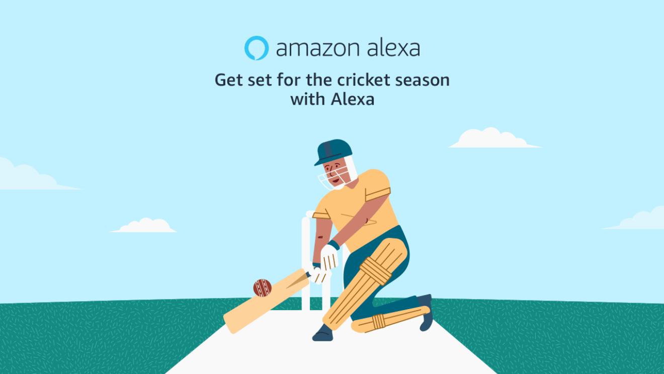 Alexa and cricket Amazon India