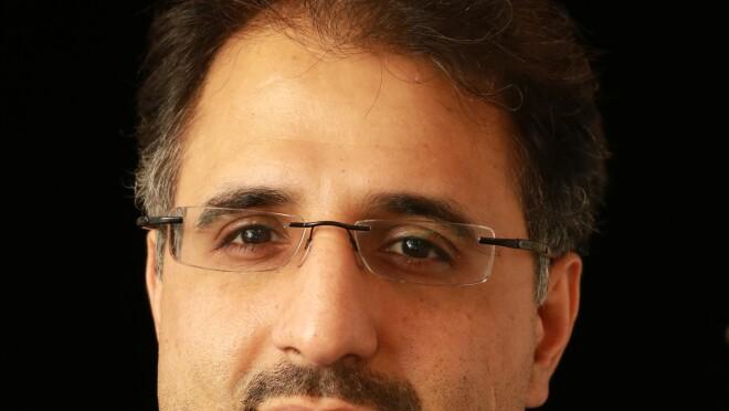 Portrait of Alborz Geramifard, a machine-learning manager within the Alexa AI organization.