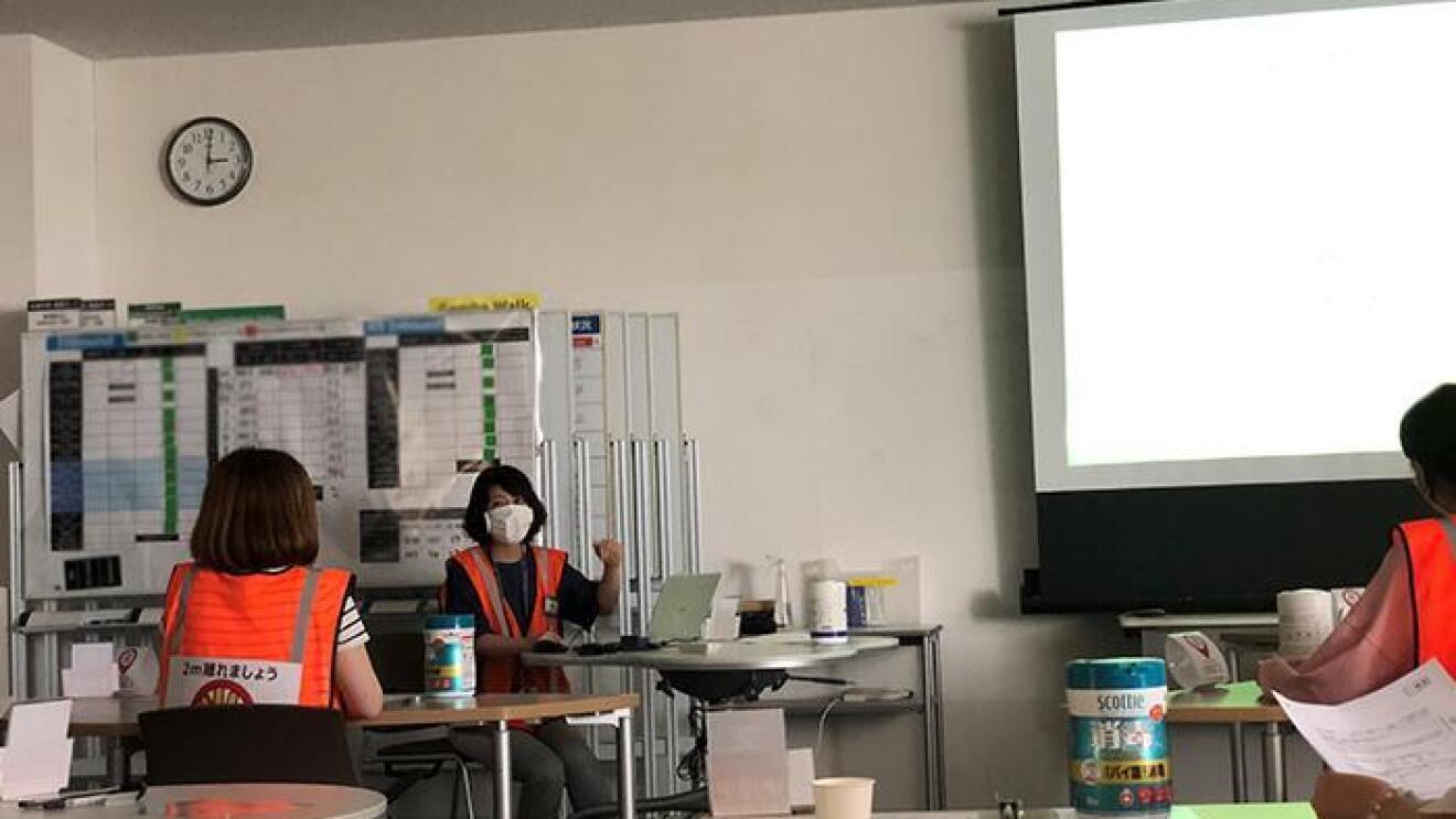 「安全で健康的な職場」で輝くFCスタッフの素顔