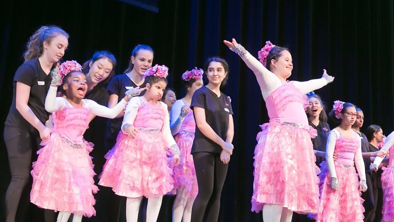 Dancing Dreams is a dance program for physically and medically challenged children.