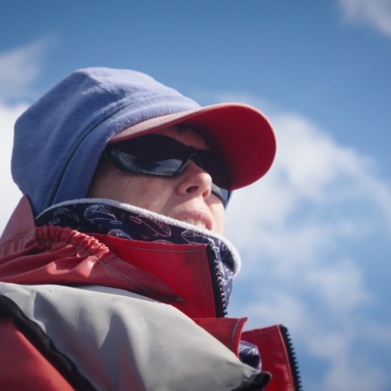 Marine Biologist Lisa Steiner has spent 30 years researching and identifying sperm whales and their migratory patterns