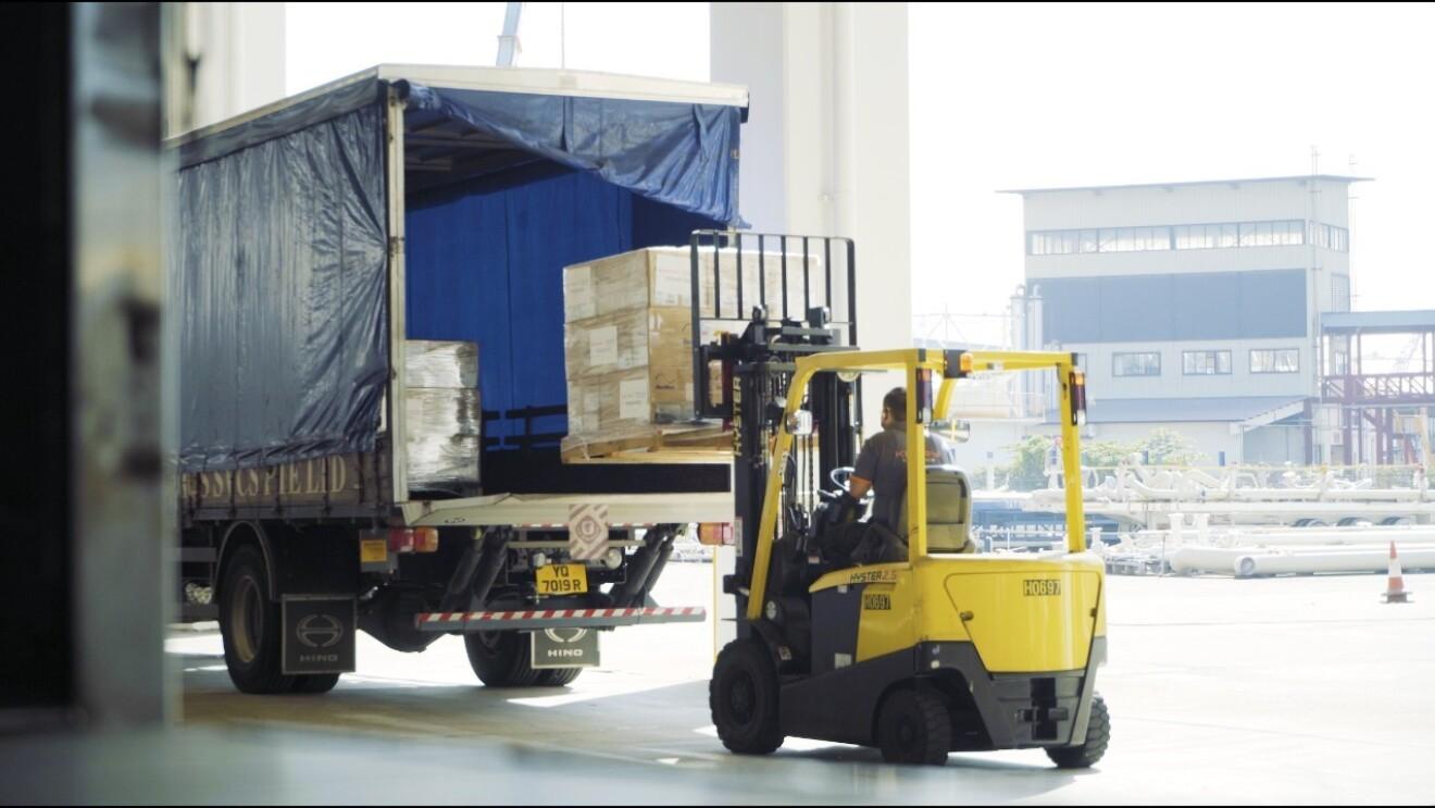 Logistics Amazon India