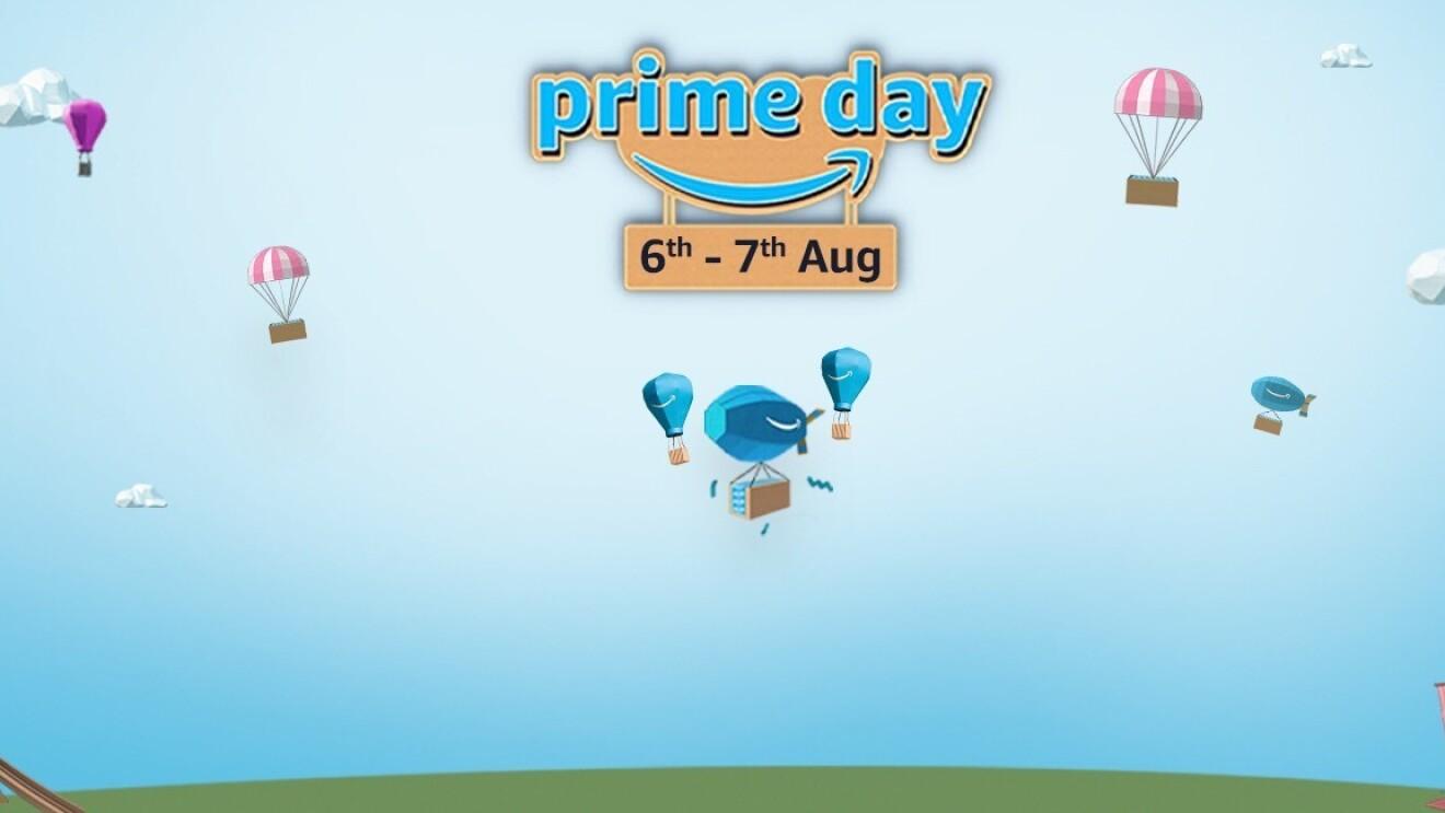 Prime Day header Amazon India