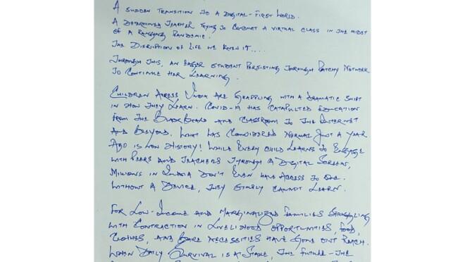 Sourav letter